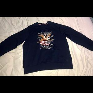 Ralph Lauren eagle sweater
